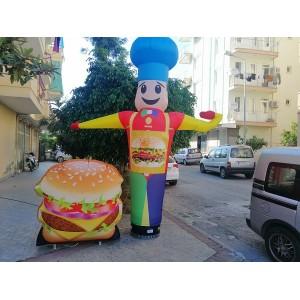 Restaurant gel gel reklam balonu