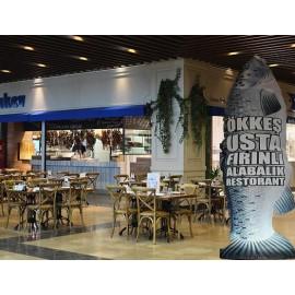 Balık Restoranlari Gel gel reklam balonu