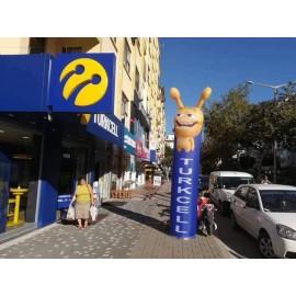 Turkcell Reklam Balonu